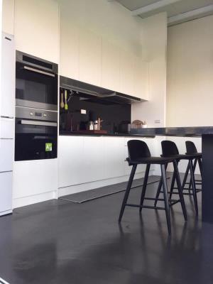 創意地坪-居家餐廳空間-黑色