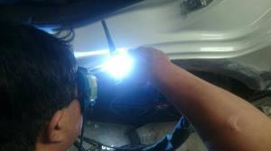 惰性氣體氬焊,可降低鐵皮因高溫變形之後遺症