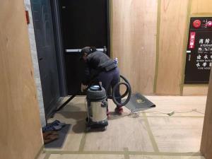 林口木作拆除、隔間打除、地面見底