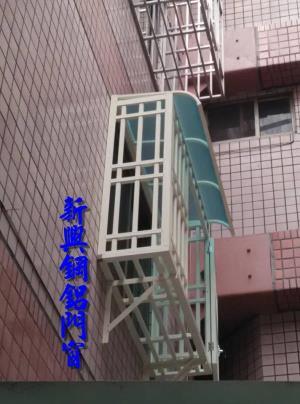 穿梭管防盜窗