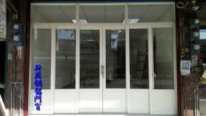 店面落地窗紗門