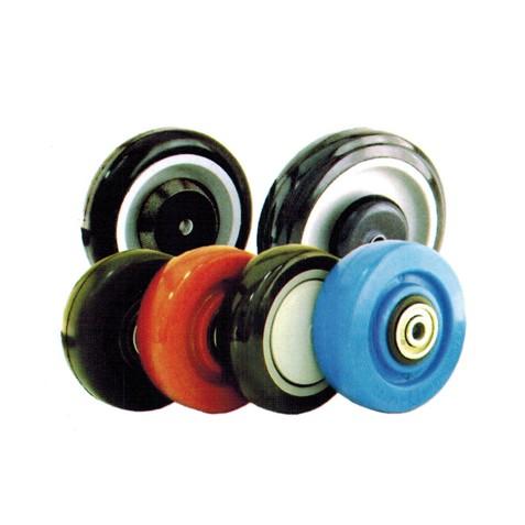 Polyurethane Tread Plastic Core Wheels