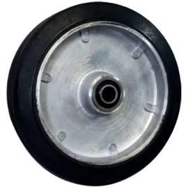 Rubber Tread Aluminium Core Wheels