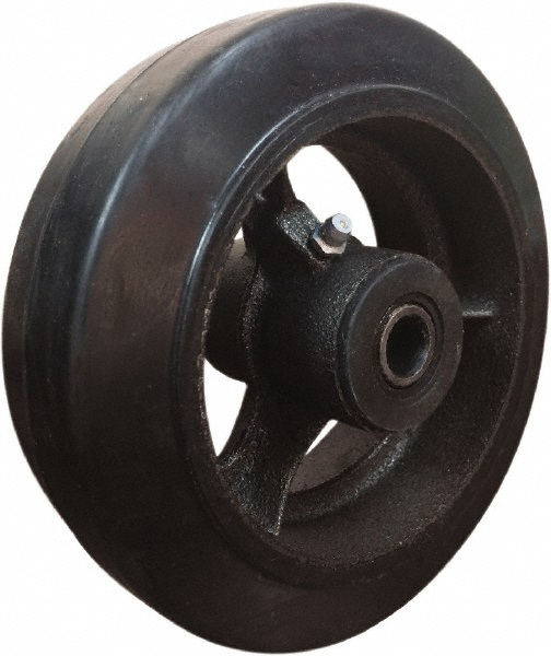 Rubber Mold-On Cast Iron Wheels