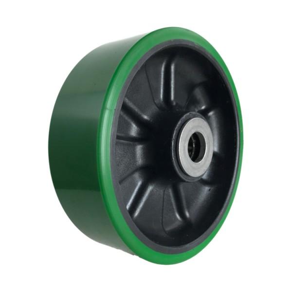 Polyurethane Tread Nylon Center Wheels