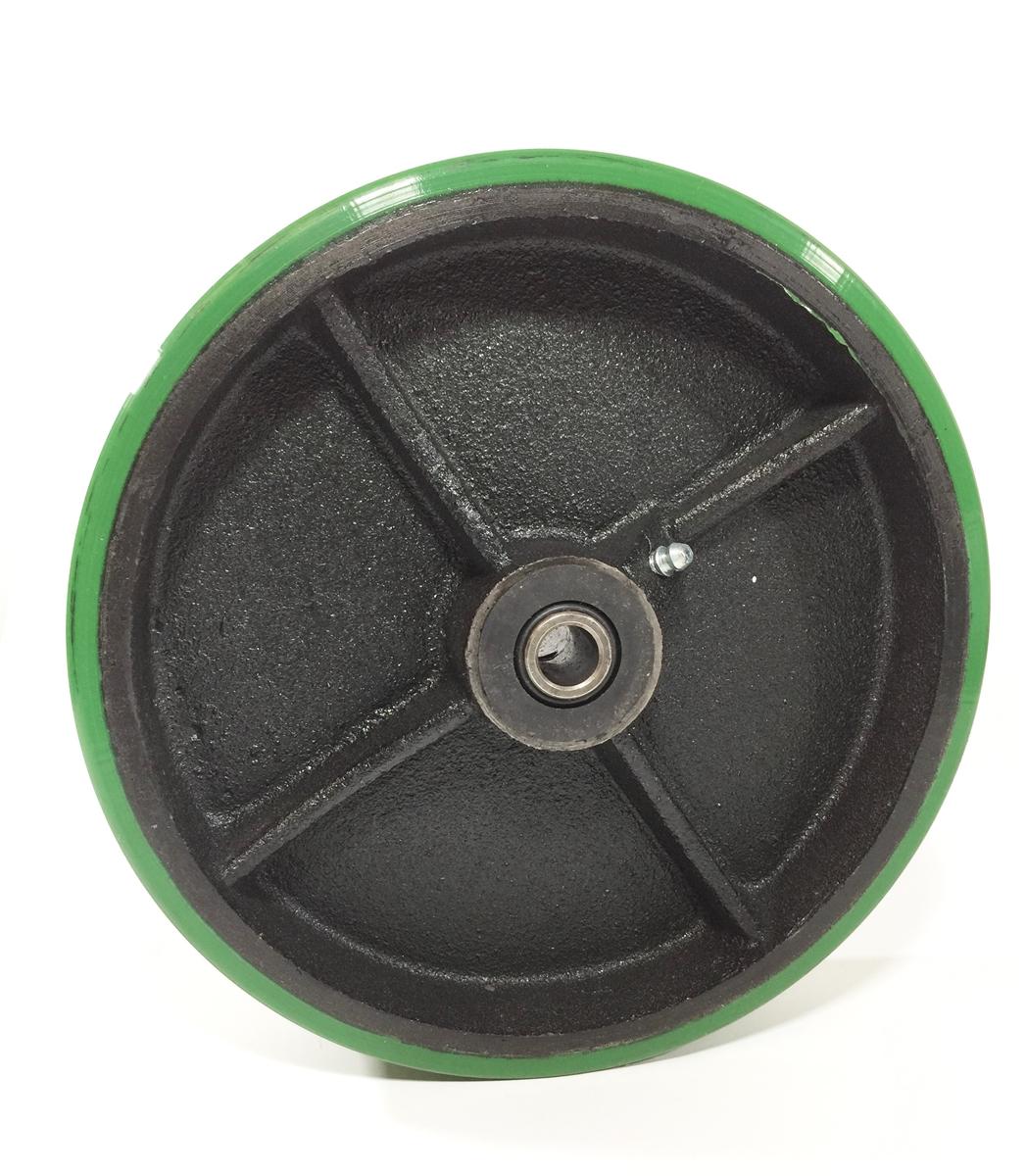 Polyurethane Mold-On Cast Iron Wheels