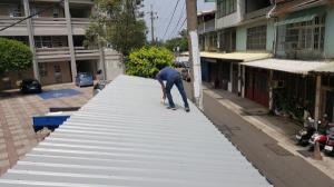 鋁鋅烤漆浪板