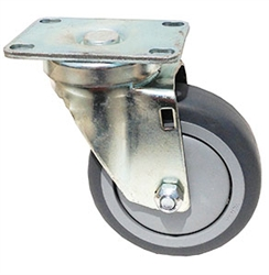Light-Medium Stainless Steel Casters