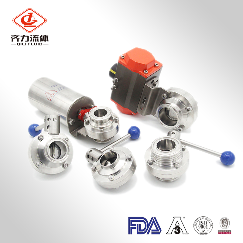 Pneumatic & Electric Actuated Butterfly Valve