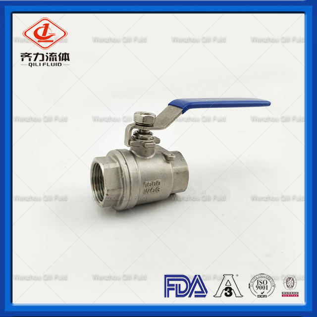 2 Pieces Ball Valve