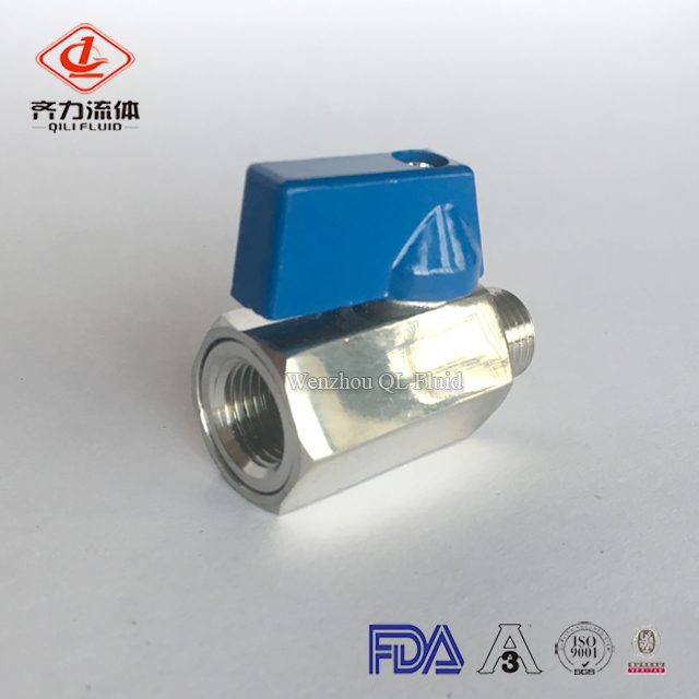 Sanitary Mini Ball Valve