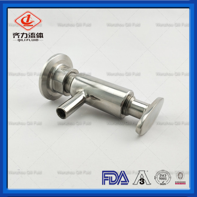 Sanitary Stainless Steel Sample Valve