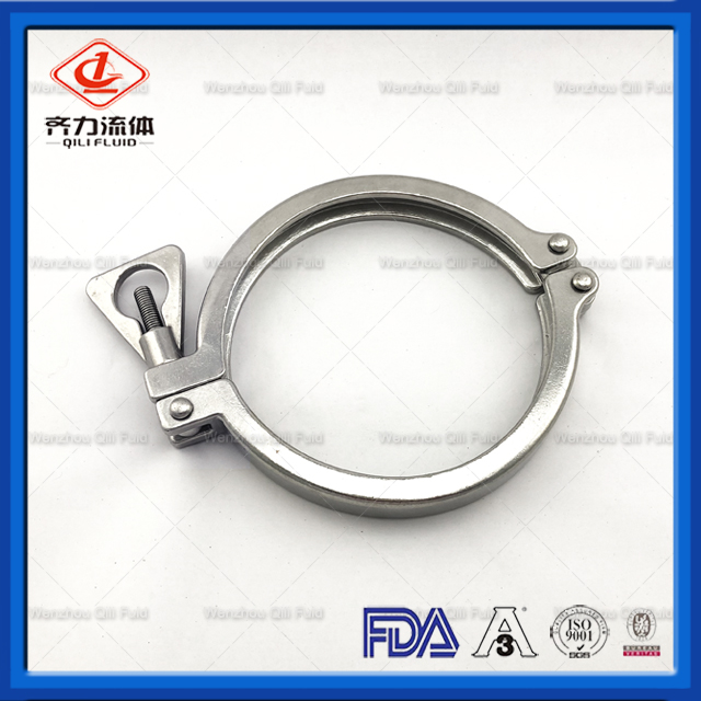 13CS Sanitary Stainless Steel Double Pin Clamp