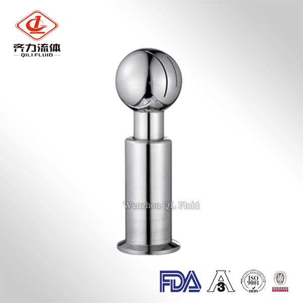 Rotating CIP Spray Ball