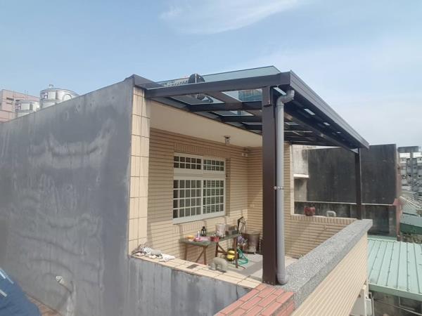 低輻射玻璃 採光罩 玻璃屋搭建