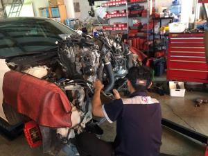 新馬六引擎受損