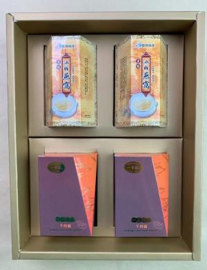 濃縮燕窩+一品鮑XO醬禮盒