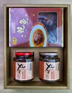 紅燒吉品網鮑+鮑魚XO醬禮盒