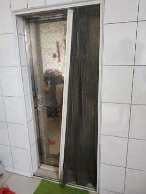 摺紗損壞、外框保留只作紗網