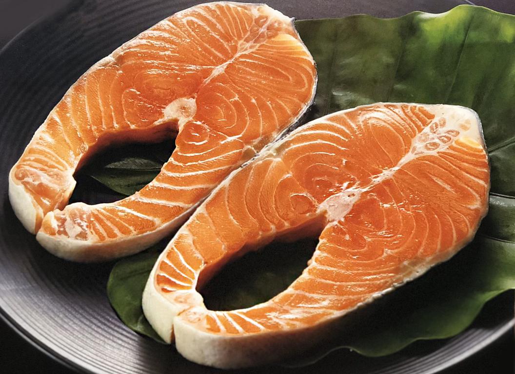 智利鮭魚切片