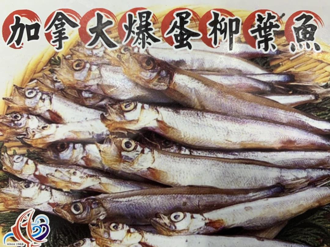 加拿大爆蛋柳葉魚