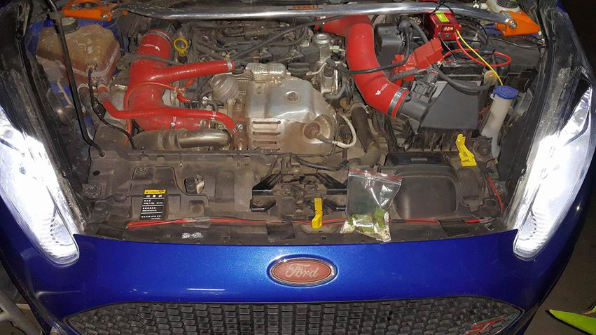 感謝彰化帥哥來店安裝 TRG鋰鐵外掛加速器 安裝車種為 福特Fiesta 菲斯塔 1.0渦輪車 安裝完畢 客人非常滿意!