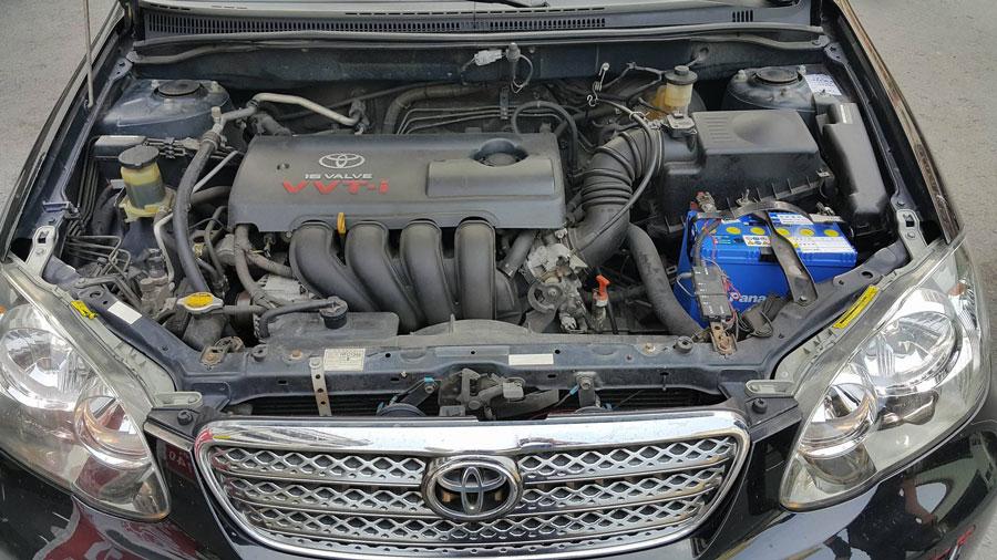 感謝年輕帥哥 前來本店安裝 國際牌80B24L銀合金電池 安裝車種為 TOYOTA 2004 阿提斯 保固二年或4萬公里