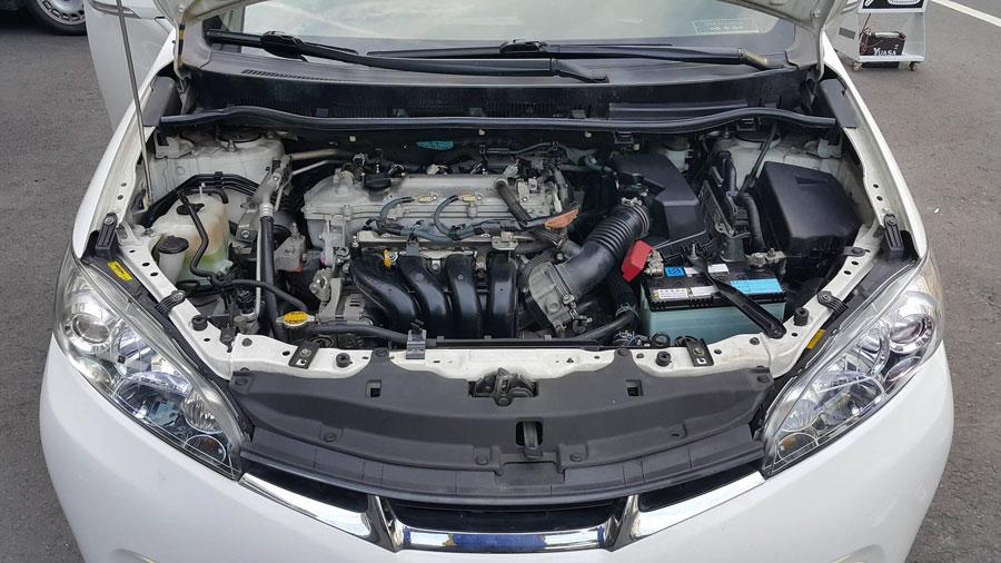 感謝吳寶兒夫妻 專程開著愛車前來更換電池 國際牌日本製造60B24LS銀合金電池 安裝車種為2011年威曲 保固一年半或3萬公里