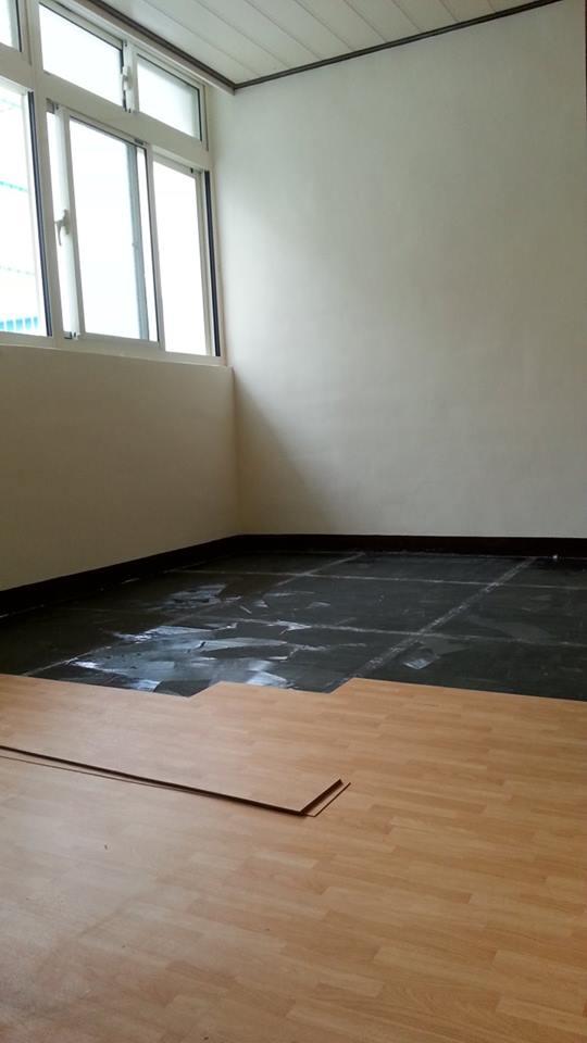 桃園老房子翻新-朔鋼地磚
