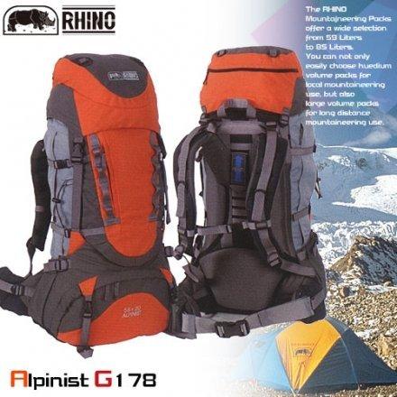 RHINO 犀牛78公升(58+20)易調式系統登山後背包P102-G178