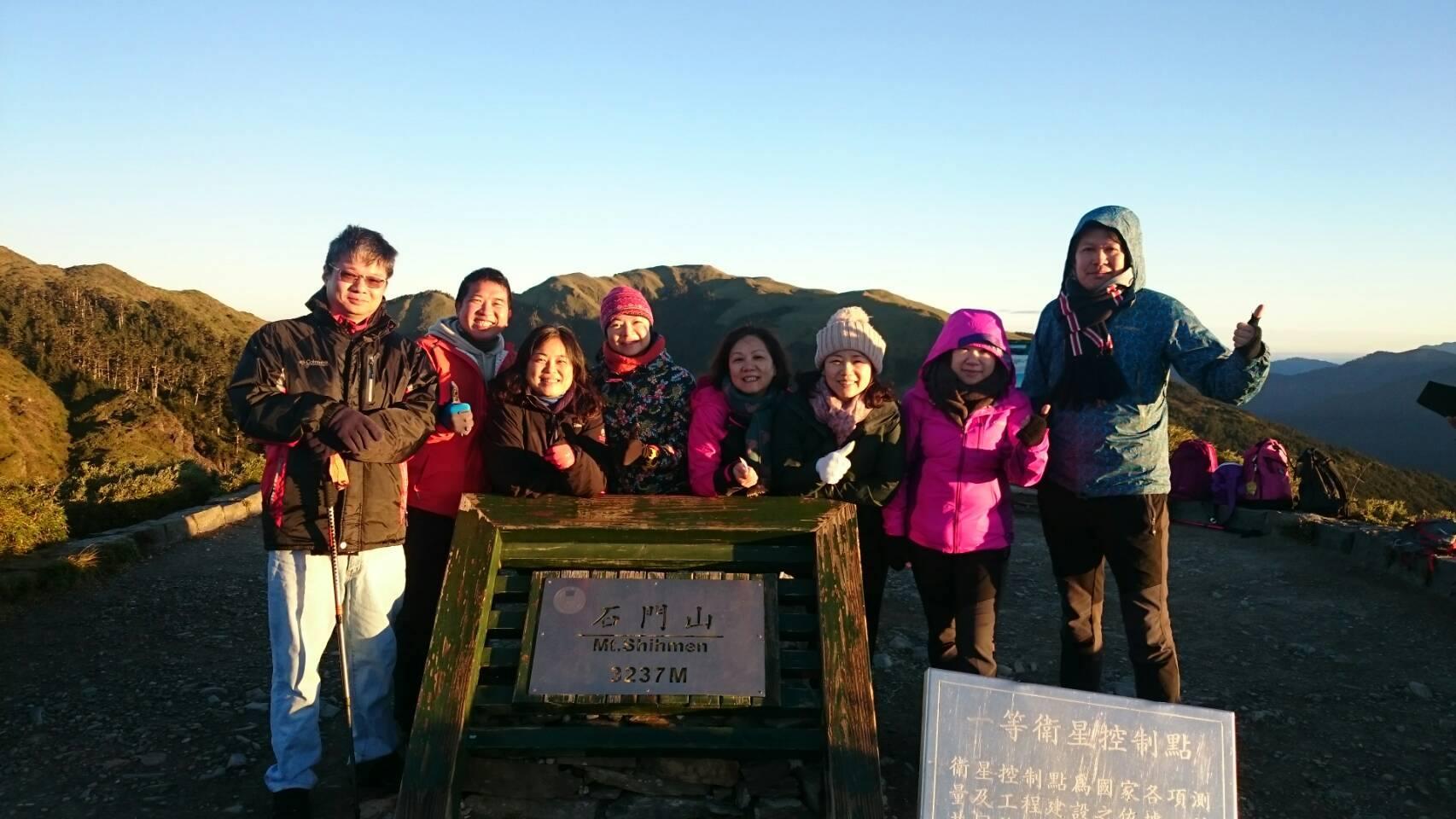 珠峰登山社11-1-2合歡群峰 百岳四座 香港的朋友