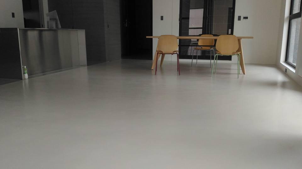 卡多泥創意地坪(水泥本色)居家空間全區效果