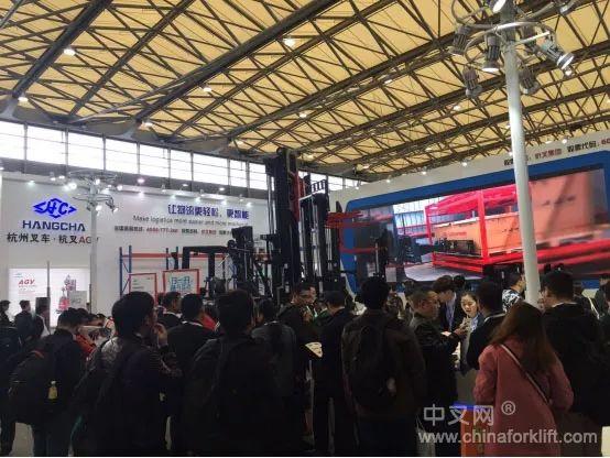 CeMAT ASIA 2017展会杭叉呈现中国制造新风采
