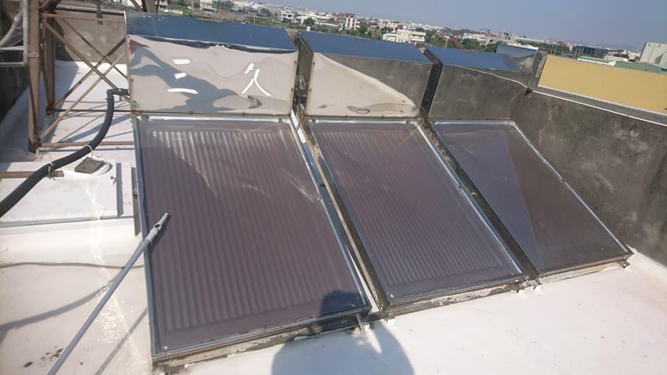 太陽能清洗!