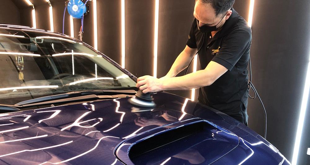 【汽車美容】汽車拋光是什麼?跟打蠟拋光是一樣的東西嗎? | 台中風馬專業汽車美容中心