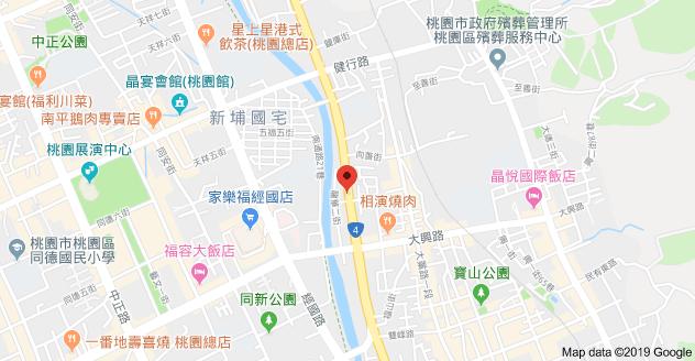 方仕美人力派遣公司地圖