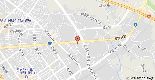 嘉鋒汽車鈑金烤漆廠地圖