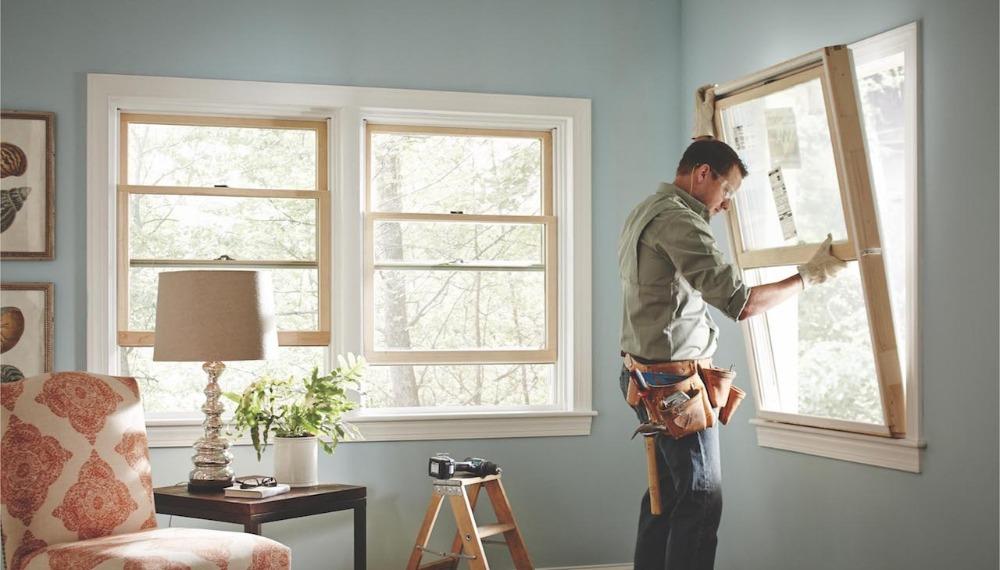 舊窗換新窗-乾式與濕式施工法|台中洪福居家門窗行
