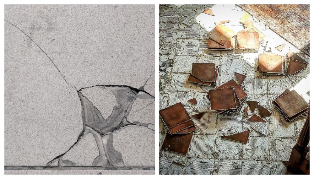 運用磁磚修補解決隆起、爆裂、脫落問題 台中協毅地磚工程行