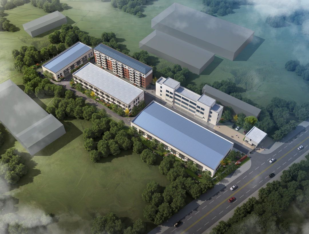 2019 OCT【Grand view of our new plant in Anhui Province】