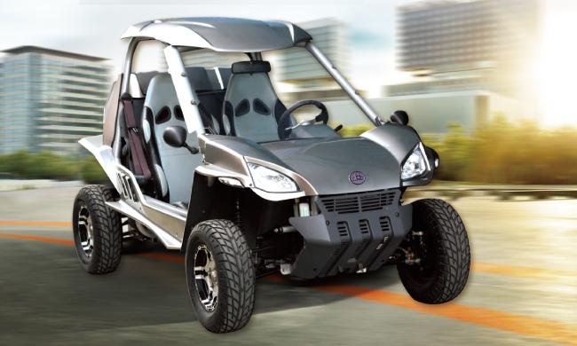 哈哈電動車--電油增程動力系統