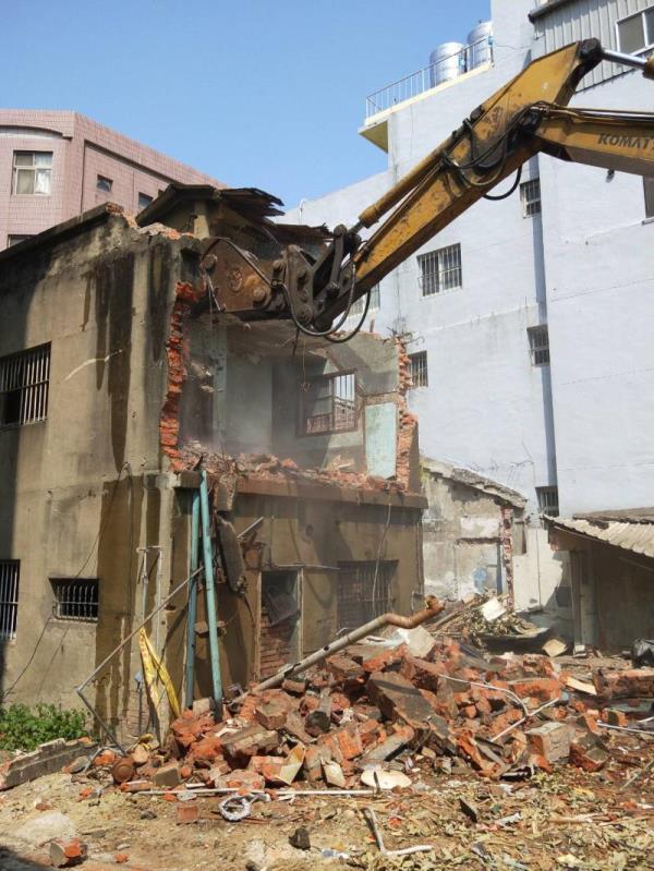 臨時工拆除工程