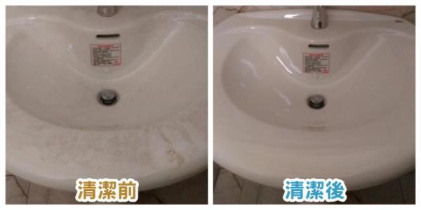 洗手台清洗