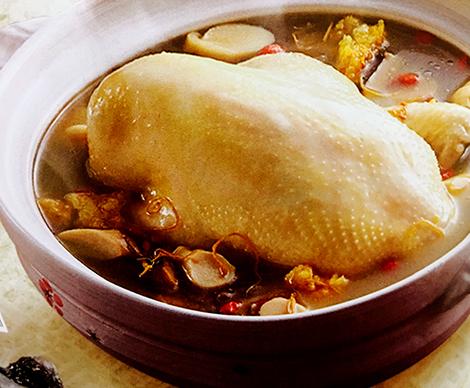 天麻黨蔘養生雞