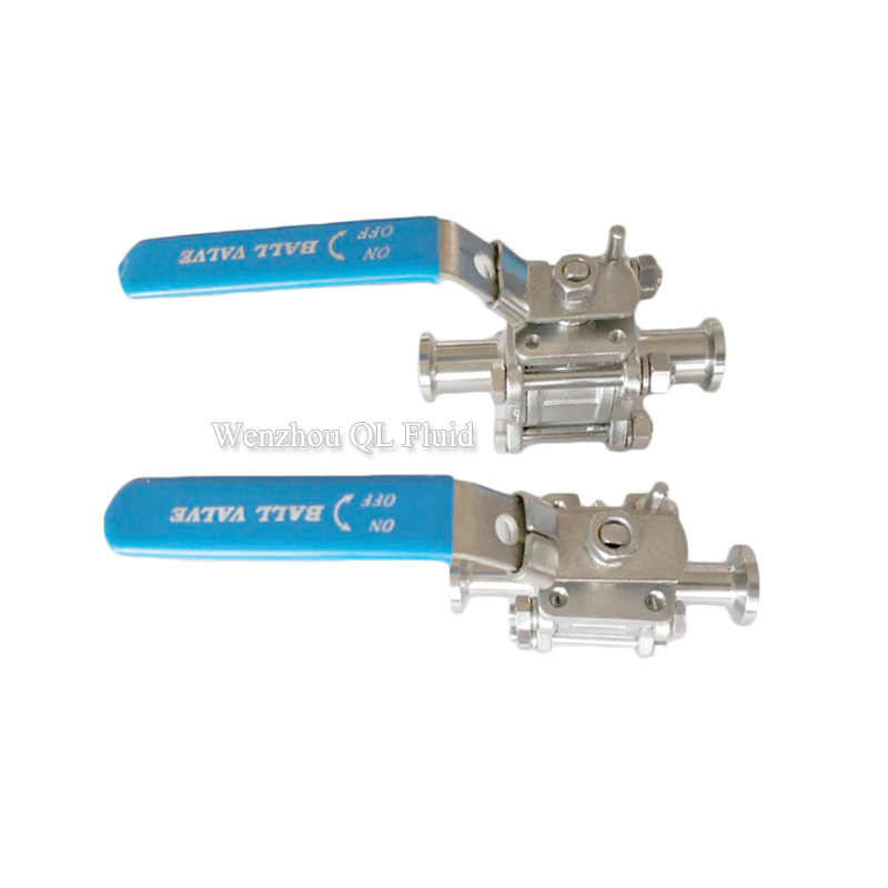 3 Pieces Ball Valve