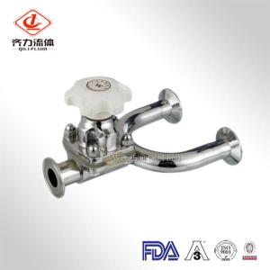 Sanitary 3-Way Diaphragm Valve