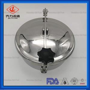 Sanitary Non-pressure Round Manhole Cover Opening Outward