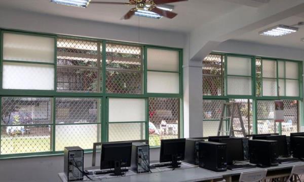 花格鋁防盜窗安裝