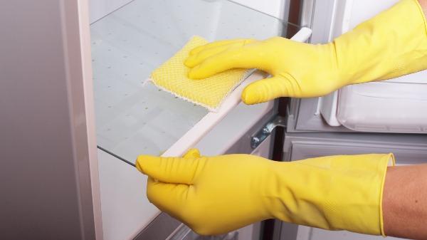冰箱消毒除臭: