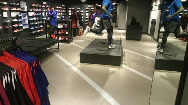 無縫紋理-Nike門市